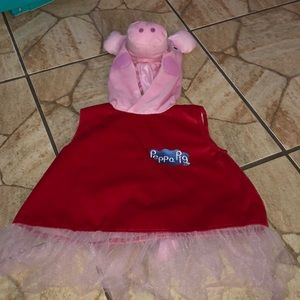 Other - Target Girls 2T Peppa Pig Costume